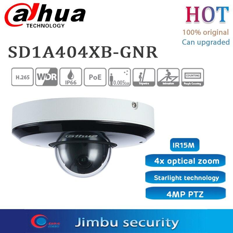 Dahua SD1A404XB-GNR & SD1A404XB-GNR-W Wifi 5G 4MP PTZ PoE 4x Sternenlicht IR WizSense PTZ Kamera 2,8-12mm vario AI Netzwerk