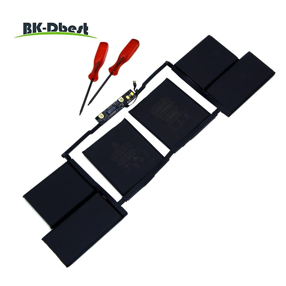 Bk-dbest nueva batería original A1820 A1707 15 pulgadas para portátil de la serie retina