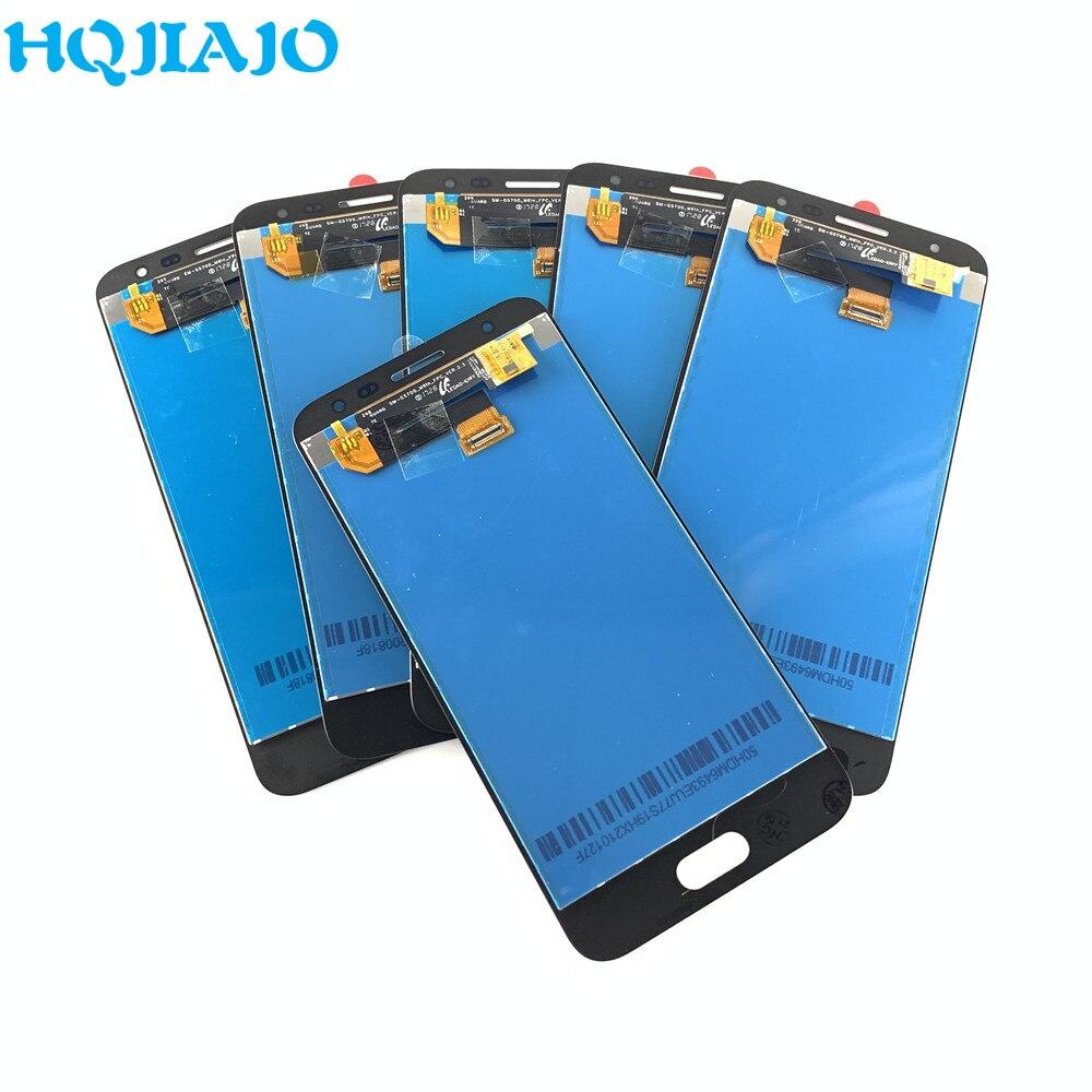 5 جزء/الوحدة اختبار LCD لسامسونج غالاكسي J5 Prime J5P G570F G570Y شاشة LCD تعمل باللمس محول الأرقام الجمعية السعر بالجملة G570
