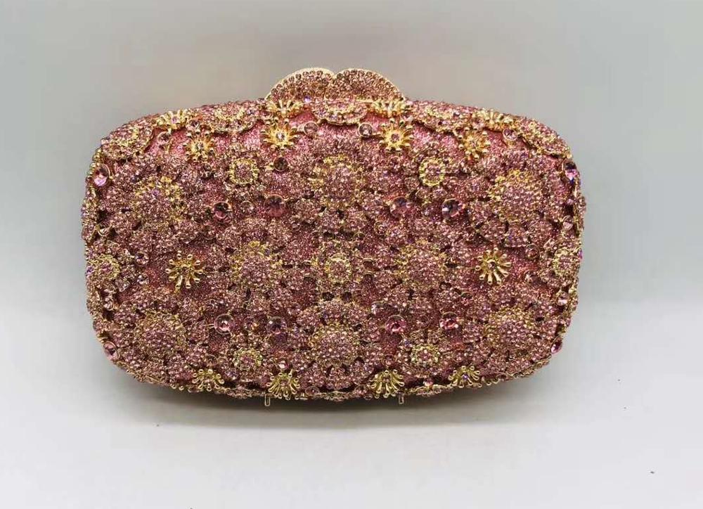 حقائب يد مخرمة من الماس للنساء ، حقائب سهرة ، حقيبة يد لحفلات الزفاف ، فاخرة ، للمآدب ، حقيبة كتف