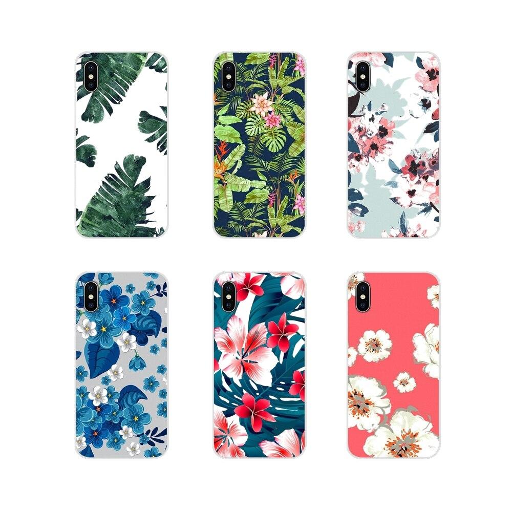 Accesorios fundas de teléfono para Xiaomi Redmi 4A S2 Note 3 3S 4 4X5 Plus 6 7 6A Pro Pocophone F1 hojas de verano Retro Flotal
