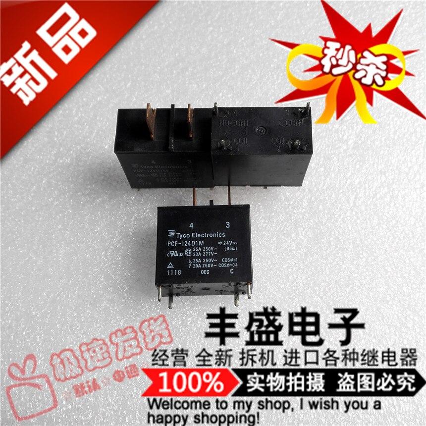 شحن مجاني PCF-124D1M 25A/250VAC PCF-124D1M-24VDC 10 قطعة يرجى ملاحظة بوضوح نموذج