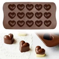 15 grids silicone baking mold cute chocolate fondant cake baking mould non stick mould cake for kitchen supplies