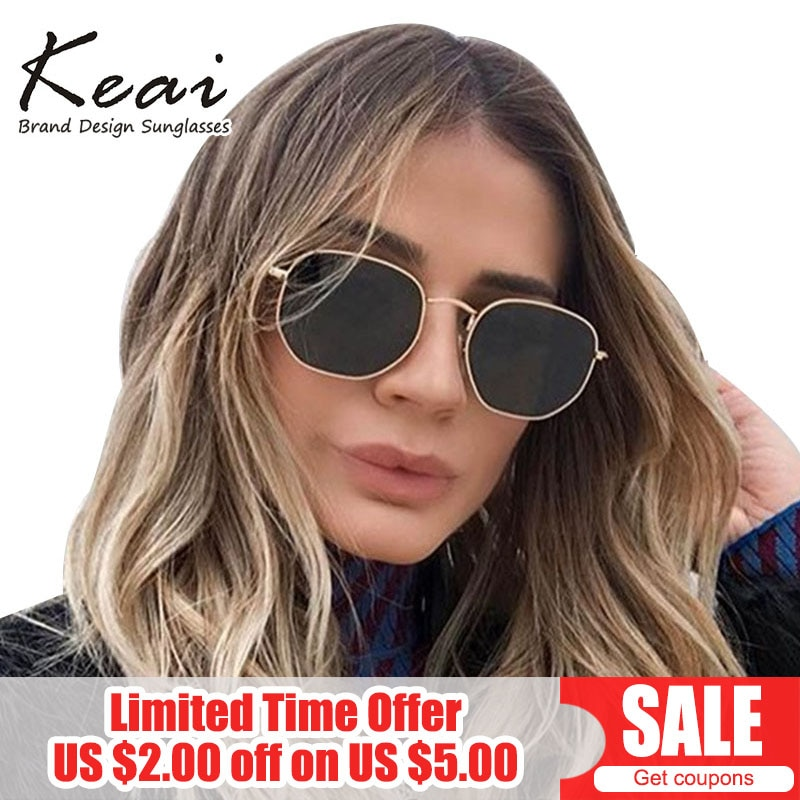 Round Hexagon Polarized Sunglasses for Women Brand Designer High Quality Female Sunglasses Masculine Glasses Sun Oculos