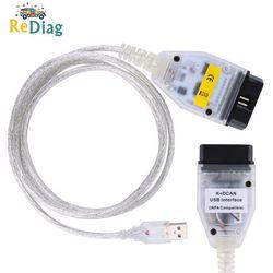 Leitor de scanner diagnóstico inpa dis sss ncs codificação para bmw de 1998 a 2008 venda quente inpa k + dcan interface usb para bmw obd pode