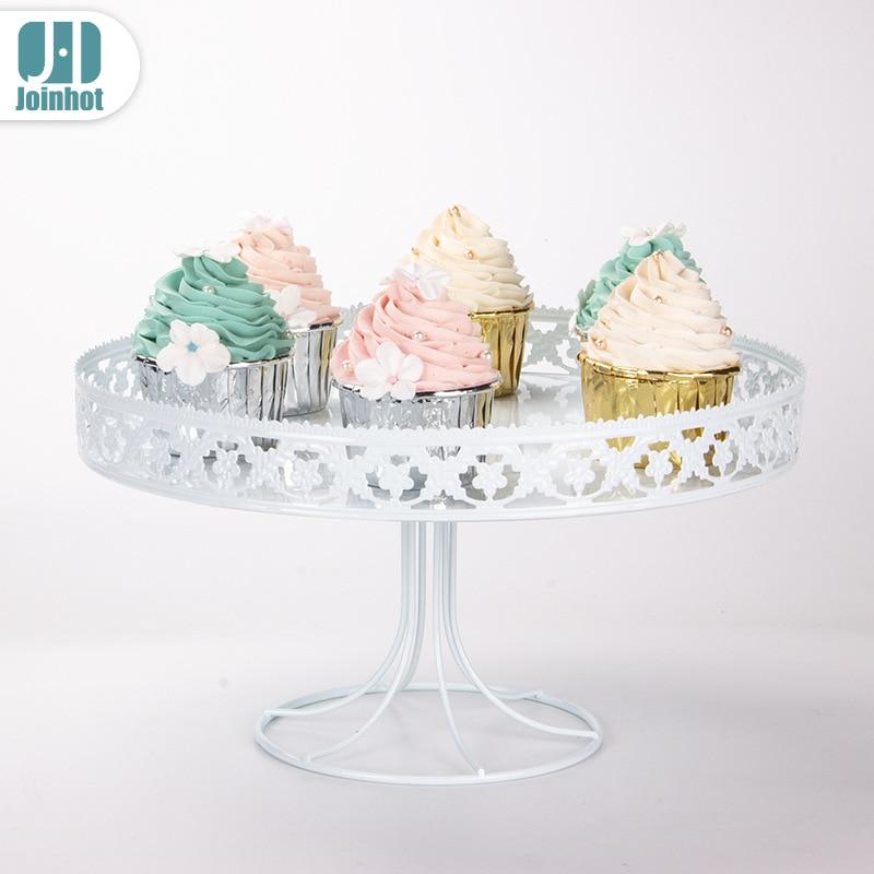 Single-layer European cake rack Cupcake table fruit candy snack display set Wedding Party Dessert Table