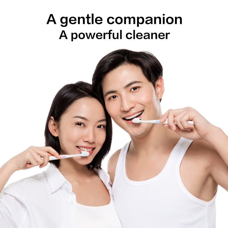 DR·BEI Toothbrush Bass Method Sandwish-bedded Teeth Cleaning Brush Soft 4 pcs in 1 Set with 4 High-end Travel Box Tooth Brush enlarge