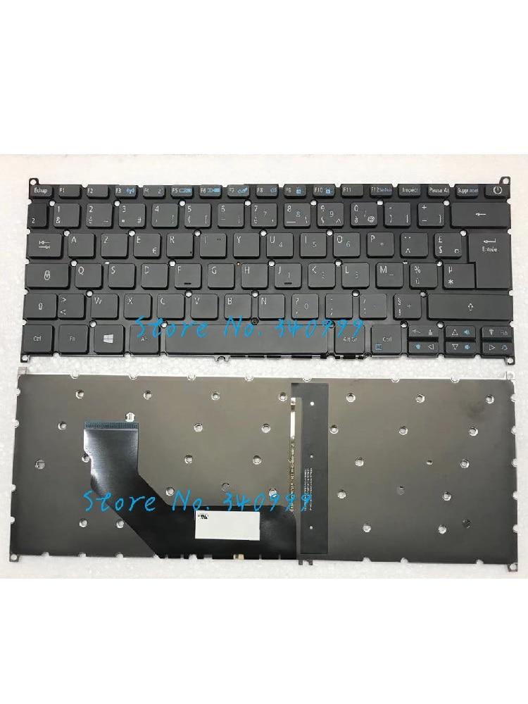 جديد الفرنسية لشركة أيسر سويفت SF113-31 FR الخلفية لوحة المفاتيح