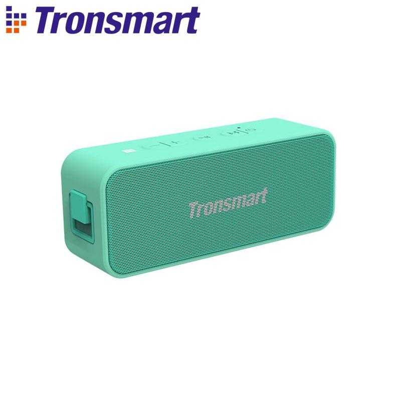 Portátil do Orador 24h do Nfc de Bluetooth Ipx7 do Elemento t2 de Tronsmart 20w com Assistente de Voz Coluna Mais Micro 5.0 sd