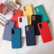 PUNQZY étui de téléphone souple Ultra-mince Transparent pour Samsung Galaxy A50 A70 S20 S10 S11 S20 PLUS A30 A51 nouveau étui de Style Simple