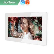 Jeatone умный дом 7 дюймов IP WI-FI видео домофон --- монитор только приложение TUYA пользовательские словосочетания