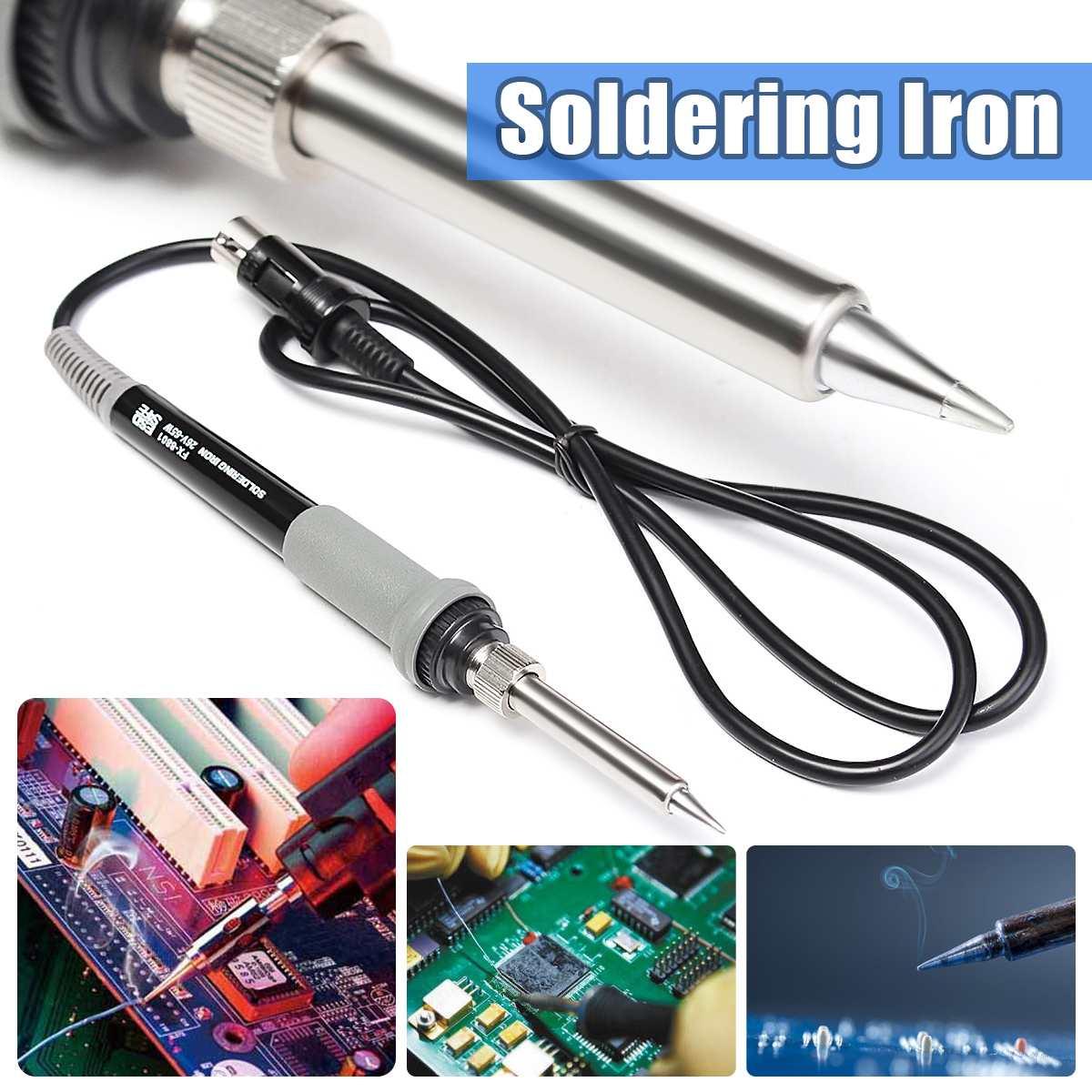 65W 6Pin hierro de soldadura soldador ELECTRICO PARA FX-888/FX-888D Estación de Reparación Mini manejar el calor lápiz Reparación de soldadura herramienta