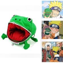 Anime NARUTO Cosplay accessoire accessoire Uzumaki grenouille forme portefeuille mignon porte-monnaie porte-monnaie
