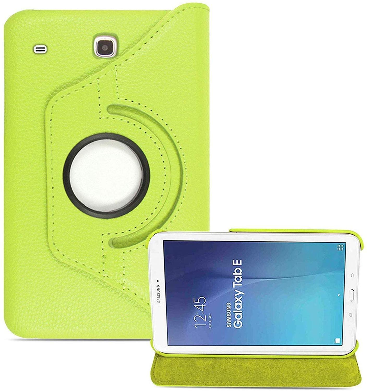 Para Samsung Galaxy Tab SM-T560 funda giratoria de 360 grados Smart soporte plegable Folio Tablet funda para Samsung Galaxy Tab E 9,6