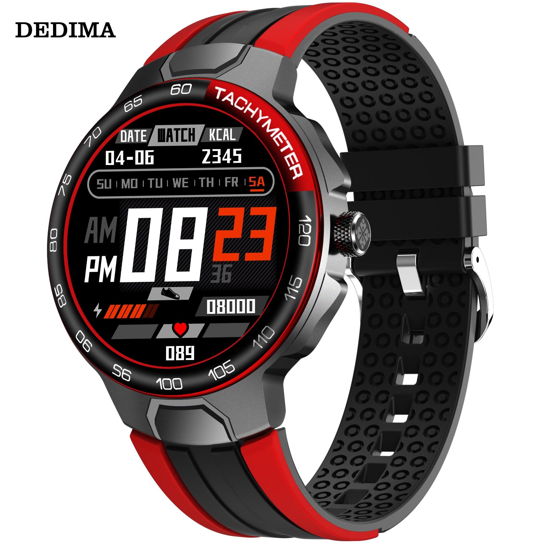 DEDIMA 2021 جديد مكالمات بلوتوث ساعة ذكية الرجال النساء مقاوم للماء Smartwatch مشغل MP3 ل ممن لهم أندرويد أبل شاومي هواوي