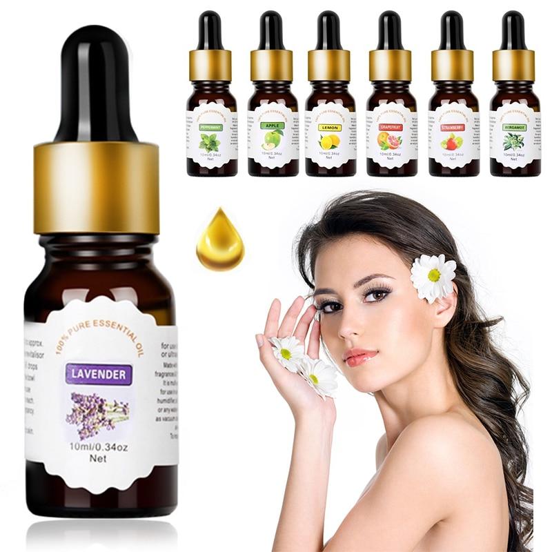 10ml מסיס במים פרח פירות חיוני שמן עבור ארומתרפיה אורגני חיוני שמן להקל על לחץ בגוף טיפוח עור TSLM2