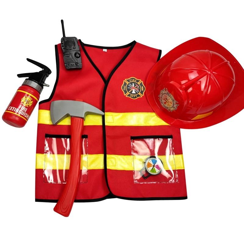 AliExpress - Umorden Kids Firefighter Cosplay Little Fireman Firemen Costume Uniform for Boy Child Halloween Carnival Party Costumes for Boys
