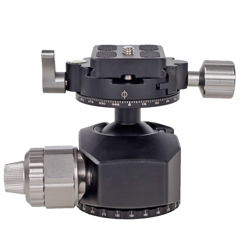 G-36 Tripod Ball Head 360 Degree with Quick Rlease Plate For Canon Nikon Sony DSLR SLRS Cameras Monopod enlarge