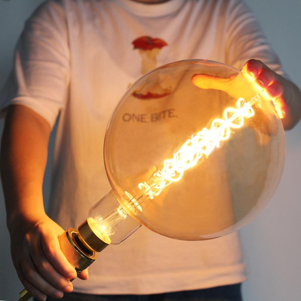 E27 Large Led Lighting Home 20cm Diameter Bulbs Vintage Lights Round Bulb 220V Big Light