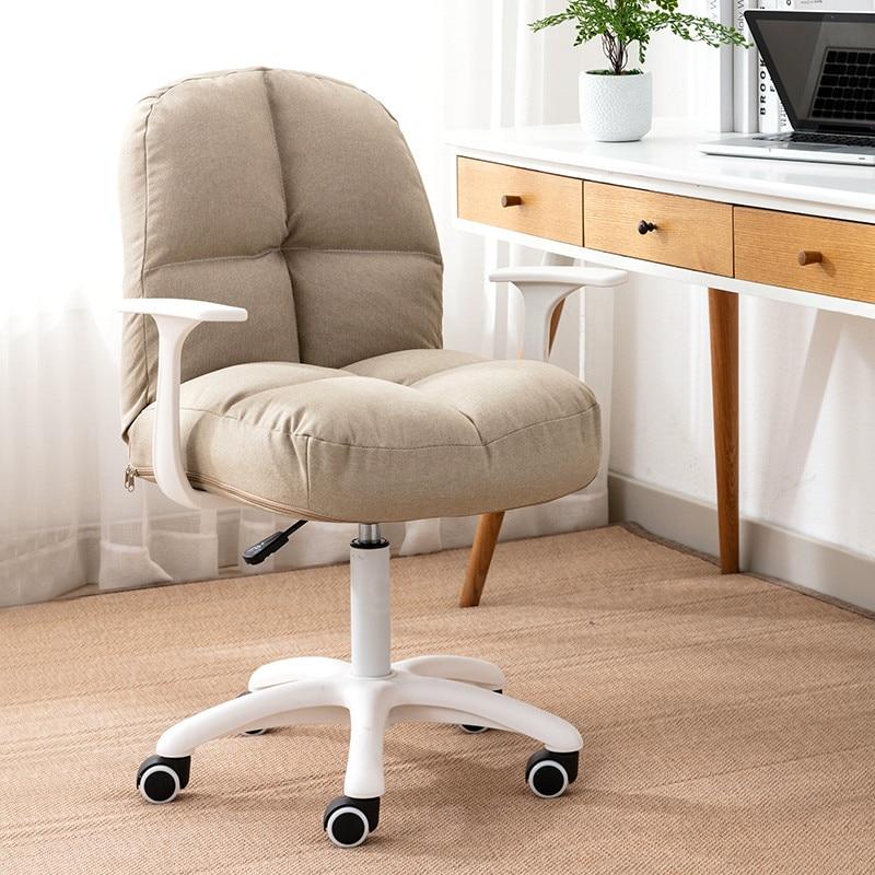 Фото - Компьютерное кресло, мебель для дома, спальни, офисное кресло, кресло для сидения, кресло для макияжа, розовое кресло с подъемником, вращающе... кресло