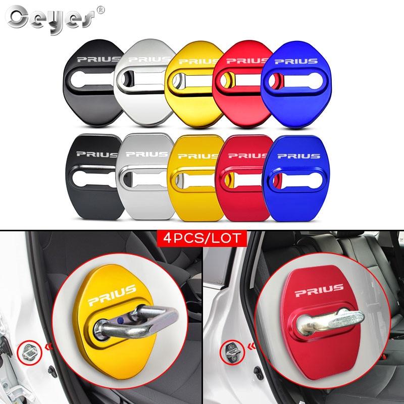 4 шт., автомобильные наклейки для Toyota PRIUS 2010 - 2020