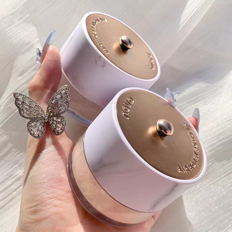 Makeup Loose Powder Oil-Control Concealer Long Lasting Waterproof Texture Pressed Powder Invisible Pores Setting Powder Cosmetic недорого