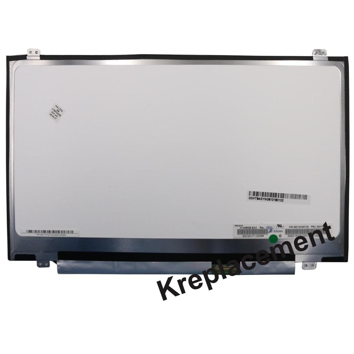 "Reemplazo del Panel de pantalla LCD de 14 ""1080 P FHD para Lenovo Thinkpad T460 20FM 20FN-no táctil versión"