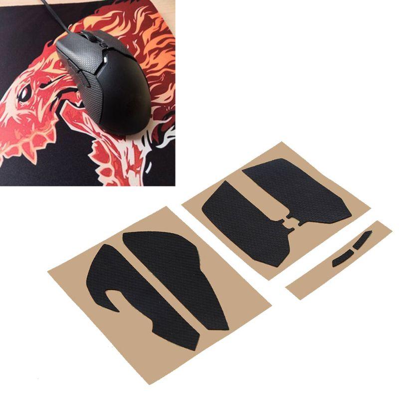 Juegos Hotline, patines de ratón, pegatinas antideslizantes laterales para Razer Viper Mini Mouse G6DC