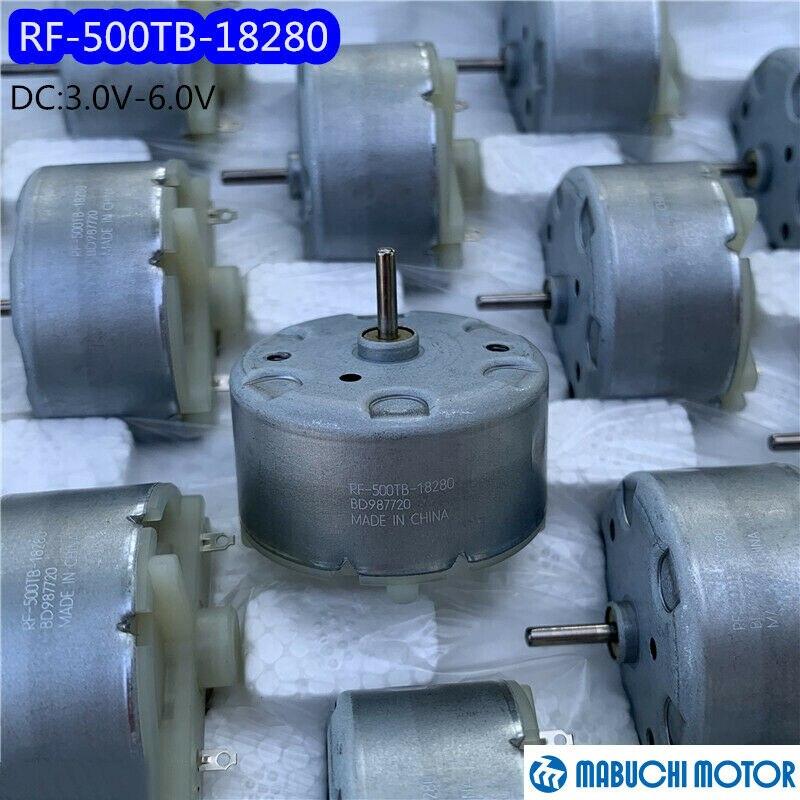 Двигатель MABUCHI RF 500TB 18280, постоянный ток, 3 в, 5 В, 6 в, 5650 об/мин, высокоскоростной, 32 мм для распылителя, проигрыватель постоянного тока, умный счетчик воды Двигатель постоянного тока DC      АлиЭкспресс