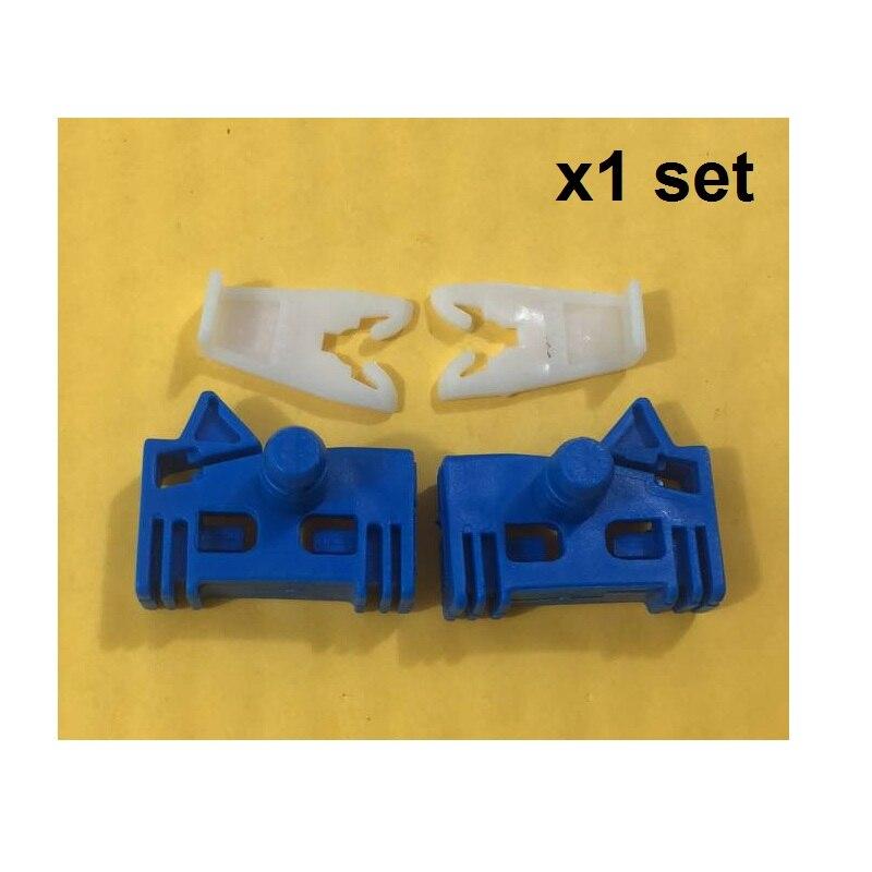 Kit de reparación de regulador de ventanilla x1 para RENAULT MEGANE SCENIC I 1, delantero izquierdo/Derecho # nuevo
