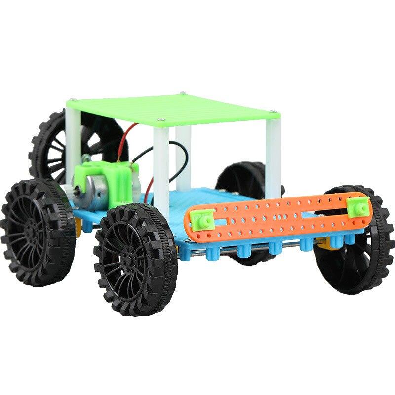 Vapor Juguetes Educativos de la ciencia tecnología de aprendizaje coche DIY hecho a mano electrónica modelos de ensamblaje