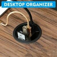 usb hub usb3 0 mount in desk multi usb 2 0 ports with sdtf headphonemircophone type c port usb hub with power adapter 5v 2a