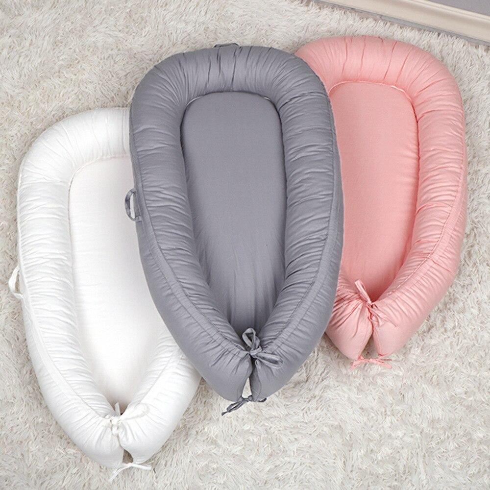 95x60cm ninho portátil para o bebê berço do laço de viagem berço do berçário recém-nascido viagem bebe playpen bassinet