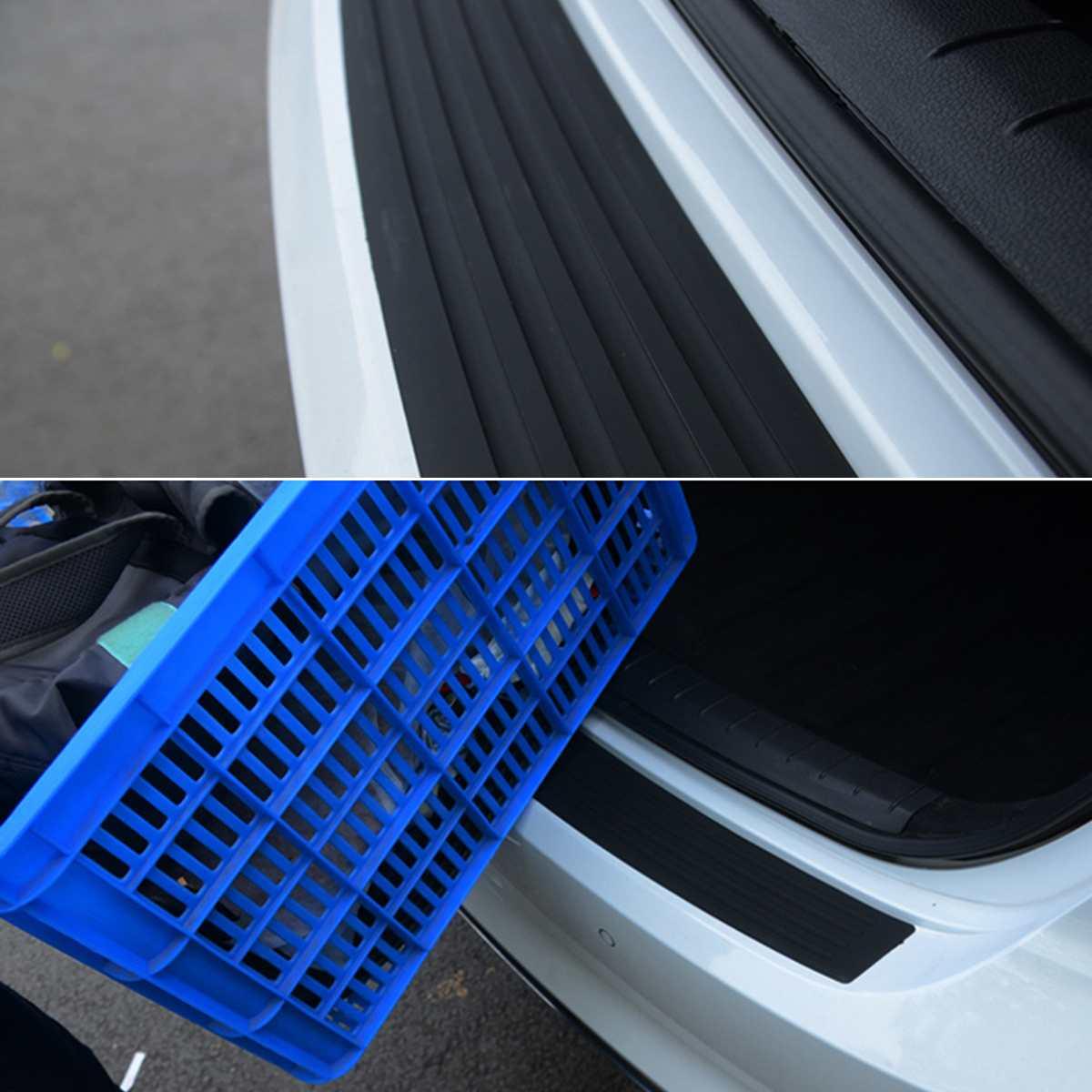 90CM, Placa de protección de maletero trasera para coche, pegatina, moldura de parachoques, protección contra rasguños para Chevrolet Cruze, para Hyundai Renault