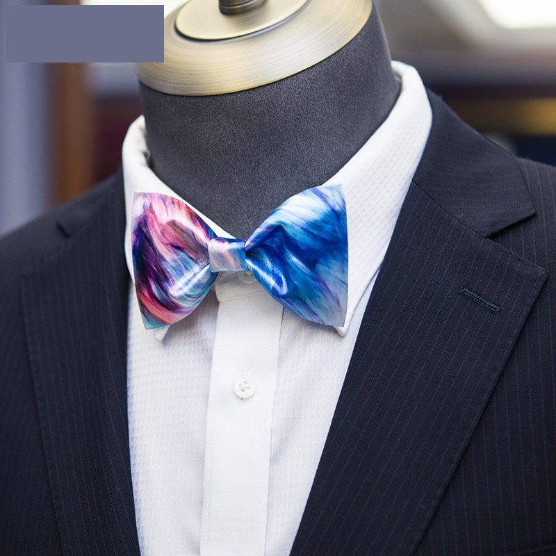 High Quality 2020 New Arrival Men Bow Tie Fashion Casual Print Bowties Butterfly  Bow Ties for Student Youth