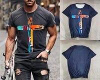 summer 2021 new harajuku ethnic print o neck t shirt camiseta mujer me oversized retro short sleeve t shirt