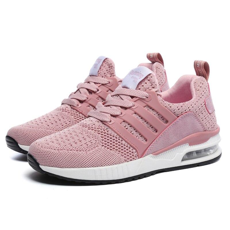 النساء 2021 خفيفة الوزن احذية الجري للنساء أحذية رياضية النساء الهواء وحيد تنفس Zapatos دي موهير أحذية رياضية عالية الجودة
