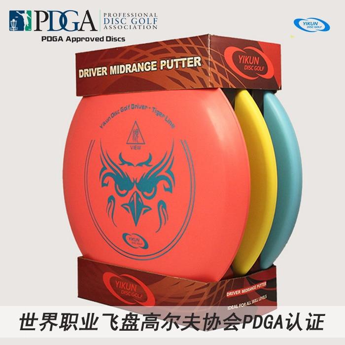 Eurodisc Disc Golf Anfänger Starter-Set, PDGA Genehmigt, Putter Mitten Fahrer Disc
