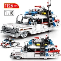 city creator technical vehicle truck moc architecture model building blocks super racing car diy bricks education toys for kids