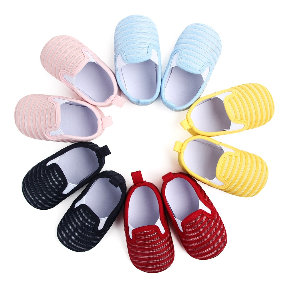 2020 The New Breathable Baby Shoes Soft Sole  Baby Girl Boy Shoes  Anti-Slip First Walker Baby Girl Boy Shoes