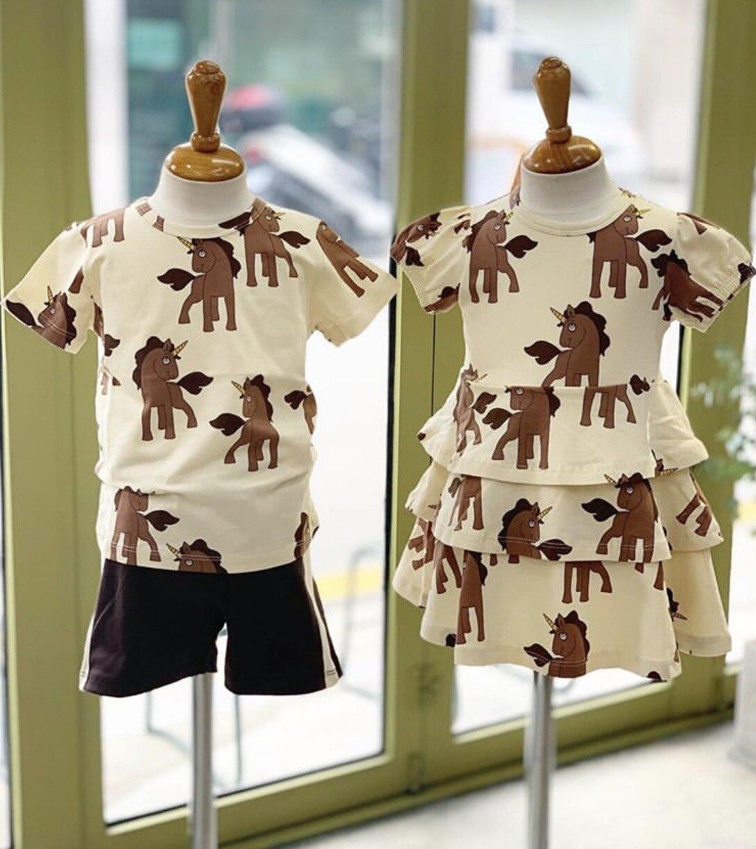 ZMHYAOKE-MR 2020 nuevo verano bebé Niñas Ropa de los niños conjuntos de moda de playa Navidad Boutique niños traje de baño