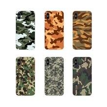 Accessoires coque de téléphone couvre Camouflage motif Camouflage armée pour Samsung Galaxy S2 S3 S4 S5 Mini S6 S7 bord S8 S9 S10E Lite Plus