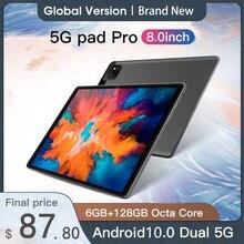 Tablet Android 10 6GB RAM 128GB ROM Tablet 8.0 Inch Tablets MTK6788 Octa CoreTableta Android 10.0 Ta