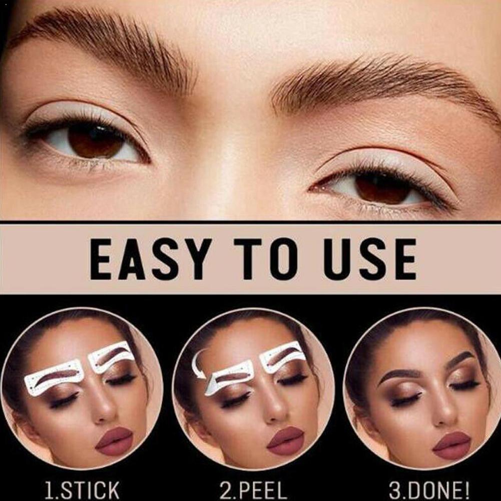 2020 Magic 6D cejas postizas resistentes al agua duradero cabello como ceja tatuaje ojos cejas cosméticos pegatinas de ojos a base de agua Sticke I6U2