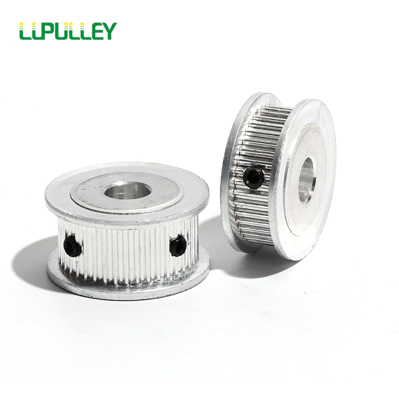 2GT 55T Synchronous Wheel Gear Part  For Belt Width 7/11mm  Bore 6/6.35/10/12/14mm 3D Printer Parts GT2 Timing Pulley 55Teeth