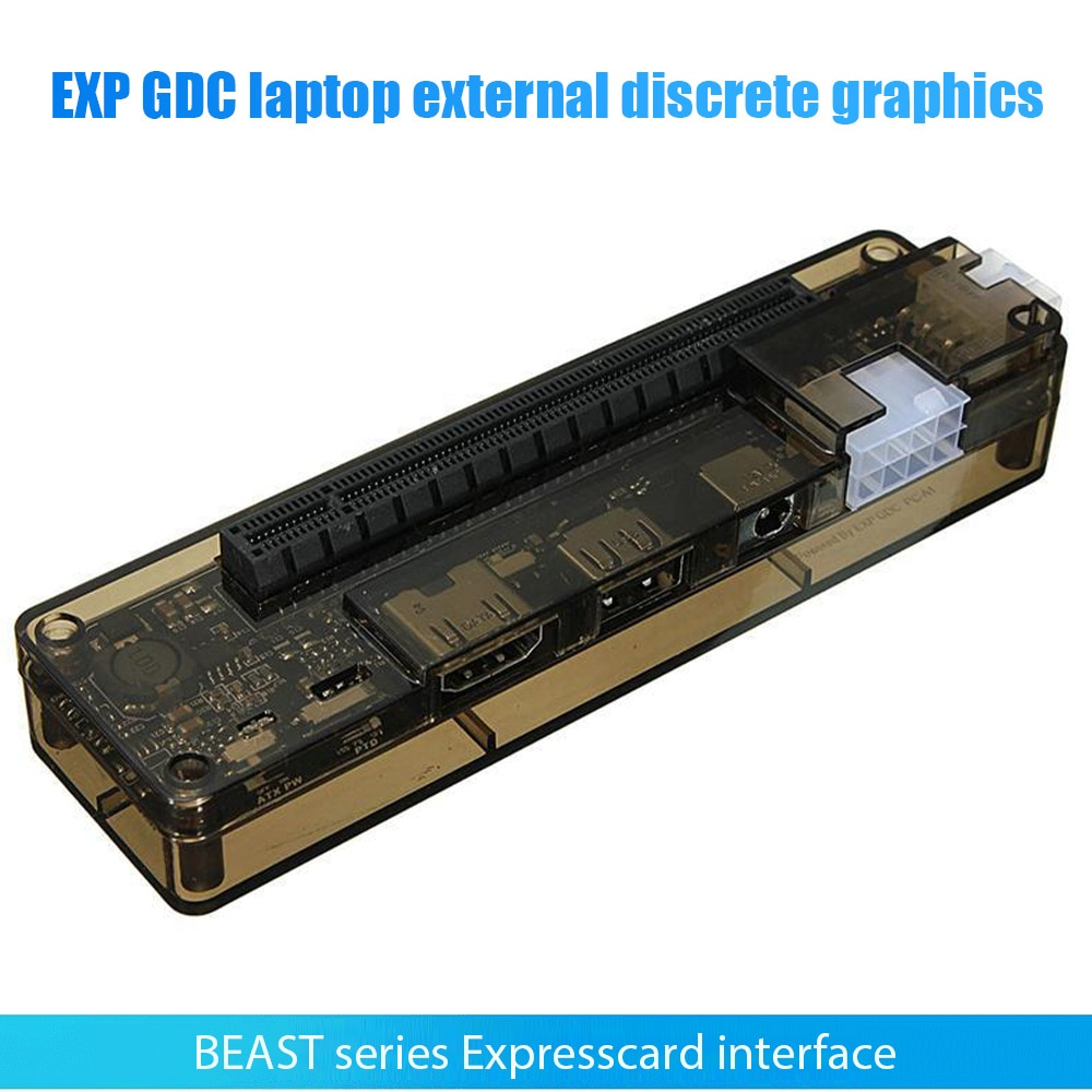 جديد وصول بطاقة الفيديو EXP GDC خارجي محمول بطاقة جرافيكس محطة الإرساء Mini PCI-E NGFF M.2A مفتاح اكسبرسكارد واجهة