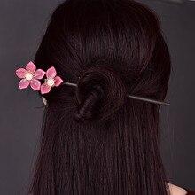 Épingle à cheveux bois cheveux Stciks mode coiffure gland bijoux pour femmes fille meilleur ami cadeau cerceau Long chinois antique ethnique