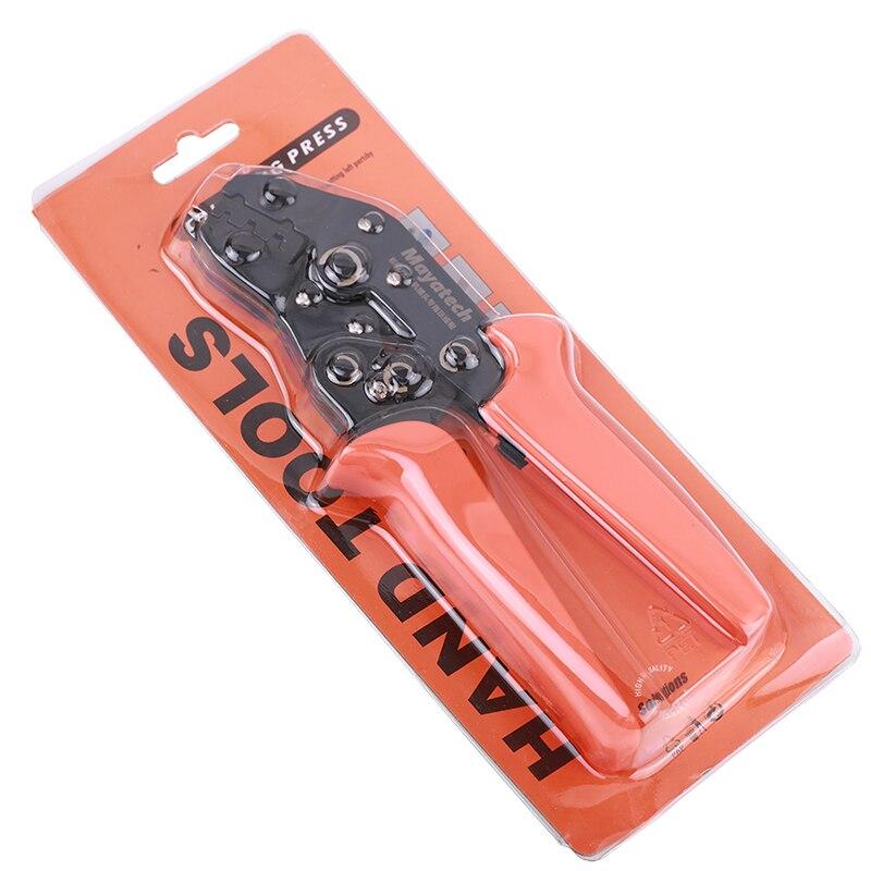 Alicates de crimpagem de alta precisão para futaba/jr servoalicate servo plug friso cabeça de equilíbrio de fio de silicone