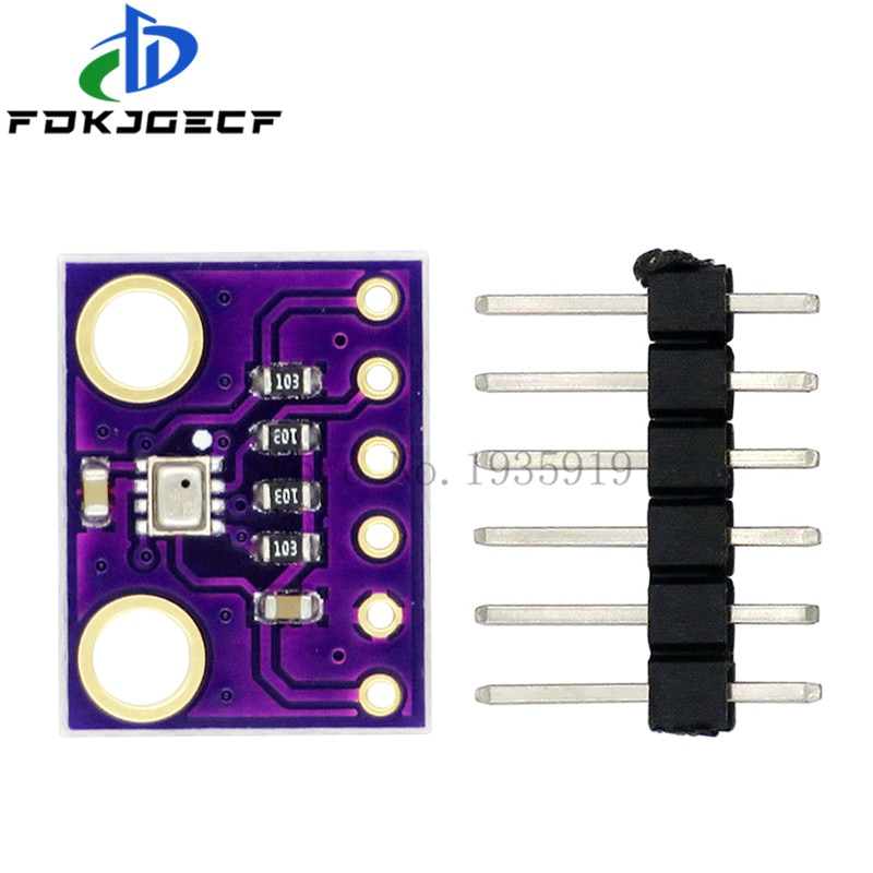 10PCS BMP280 3.3 I2C/SP Digital Barometric Pressure Altitude Sensor High Precision Atmospheric Module for arduino Replace BMP180