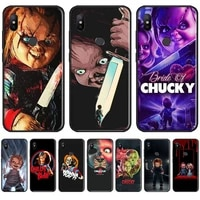 charles lee ray chucky doll phone case for xiaomi redmi 7 9t 9se k20 mi8 max3 lite 9 note 8 9s 10 pro soft silicone cover funda